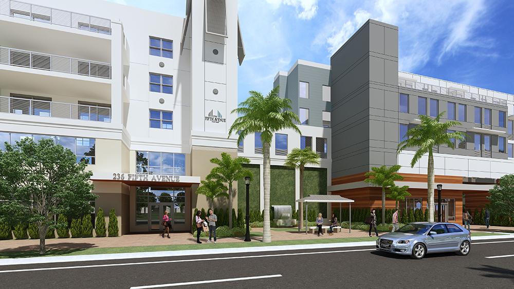 236 fifth avenue delray beach condominium entrance