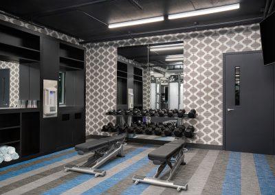 236 Fifth Avenue and Aloft Delray Beach Hotel Fitness Center